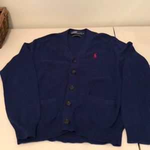Polo by Ralph Lauren-Men's light sweater Cardigan